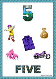5 objects- worksheet 8