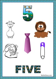 5 objects- worksheet 9