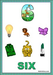 6 objects - worksheet 9