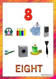 8 objects - worksheet 9