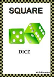 SQUARE DICE