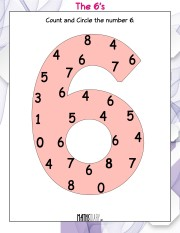 circle-the-number-6