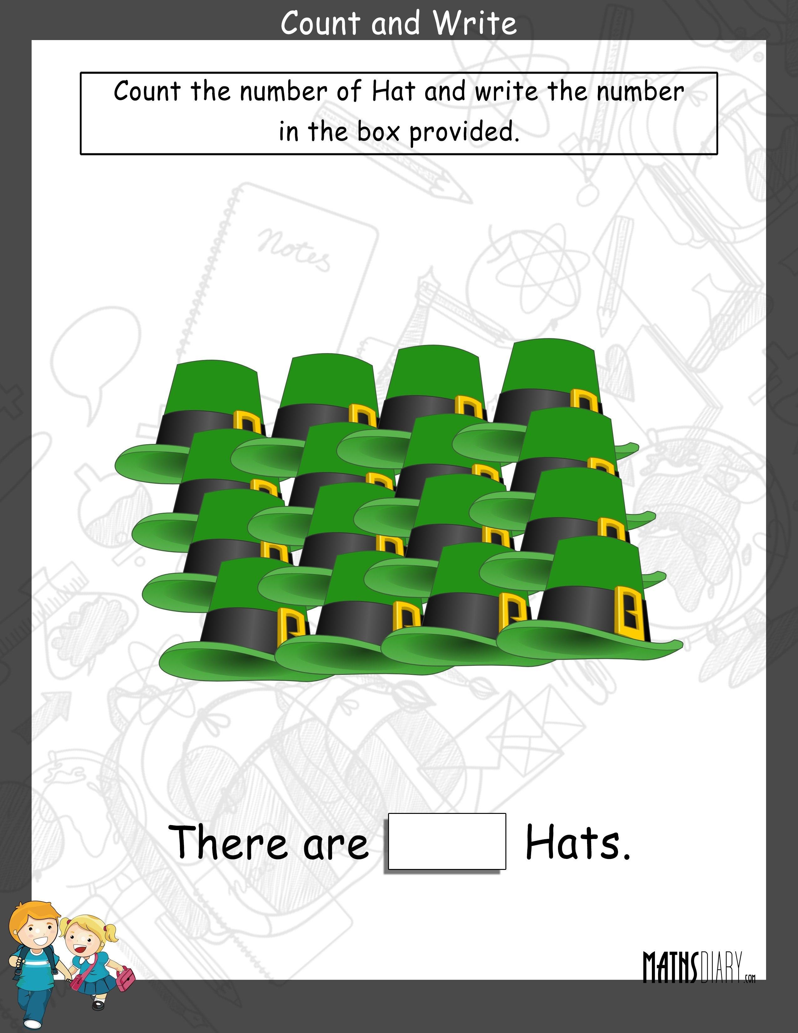 Numbers – Nursery Math Worksheets
