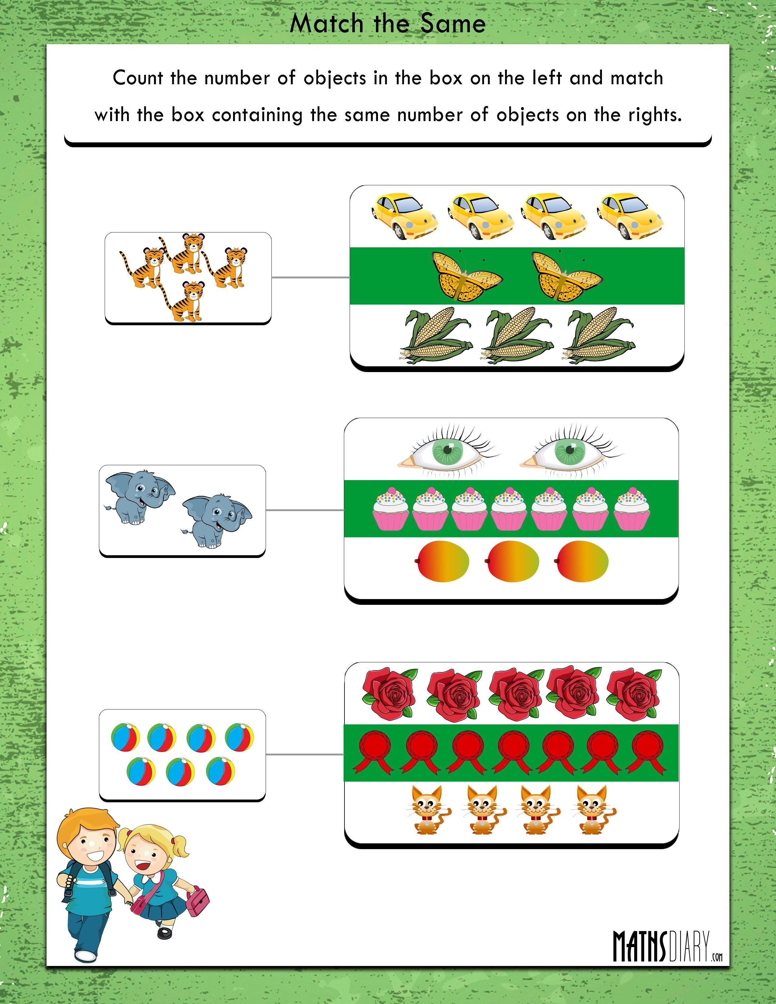Comparing – UKG Math Worksheets