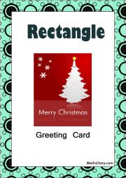 rectangular greeting