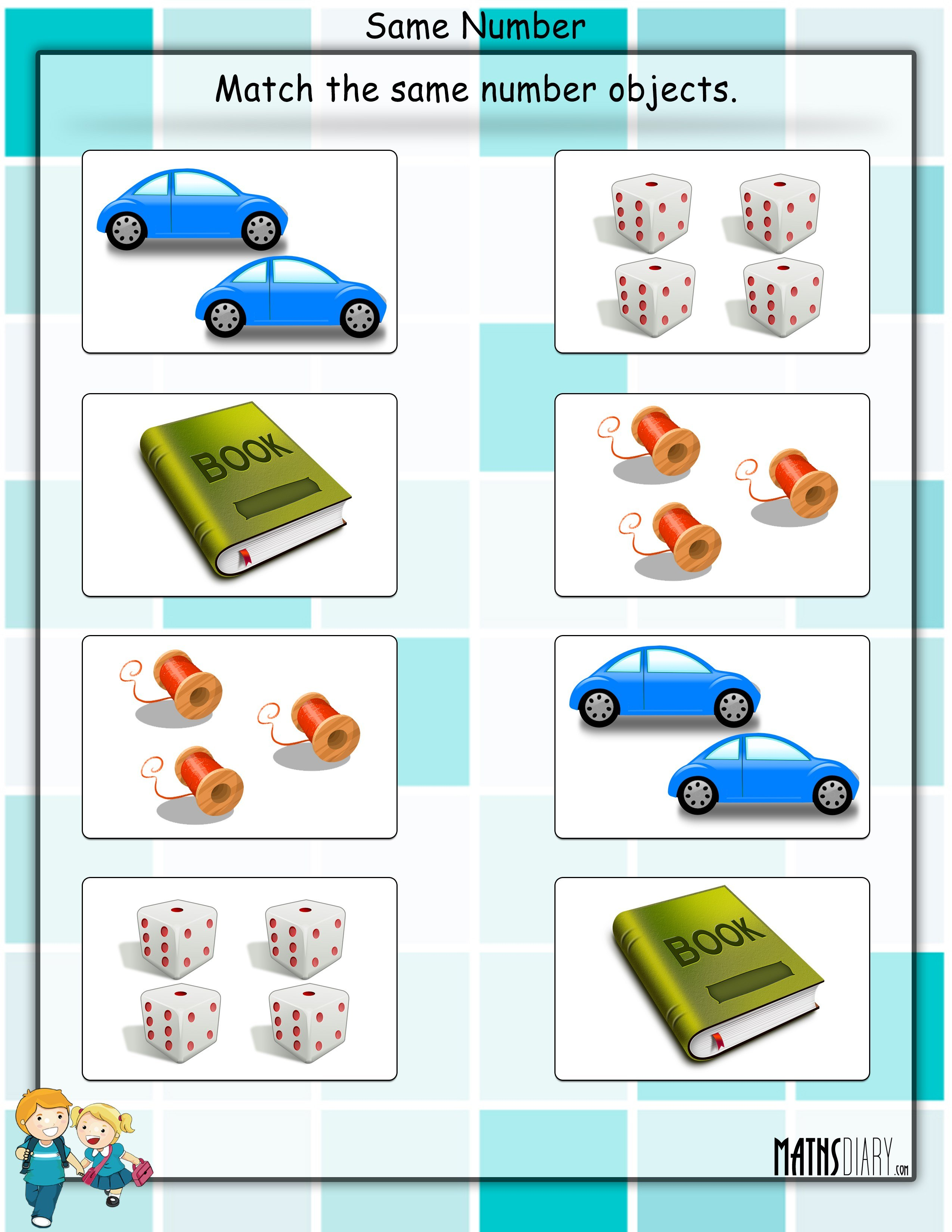 Mental Maths – Nursery Math Worksheets - Page 3