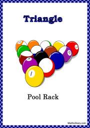 tri pool rack