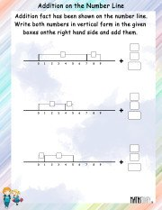 Addition-on-number-line-worksheet-4