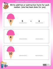 Addition-subtraction-fact-worksheet-2