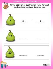 Addition-subtraction-fact-worksheet-3
