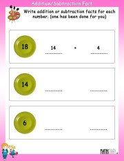 Addition-subtraction-fact-worksheet-4
