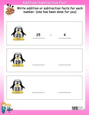 Addition-subtraction-fact-worksheet-5
