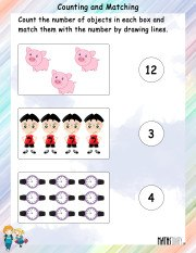 Counting and Matching Worksheet 9