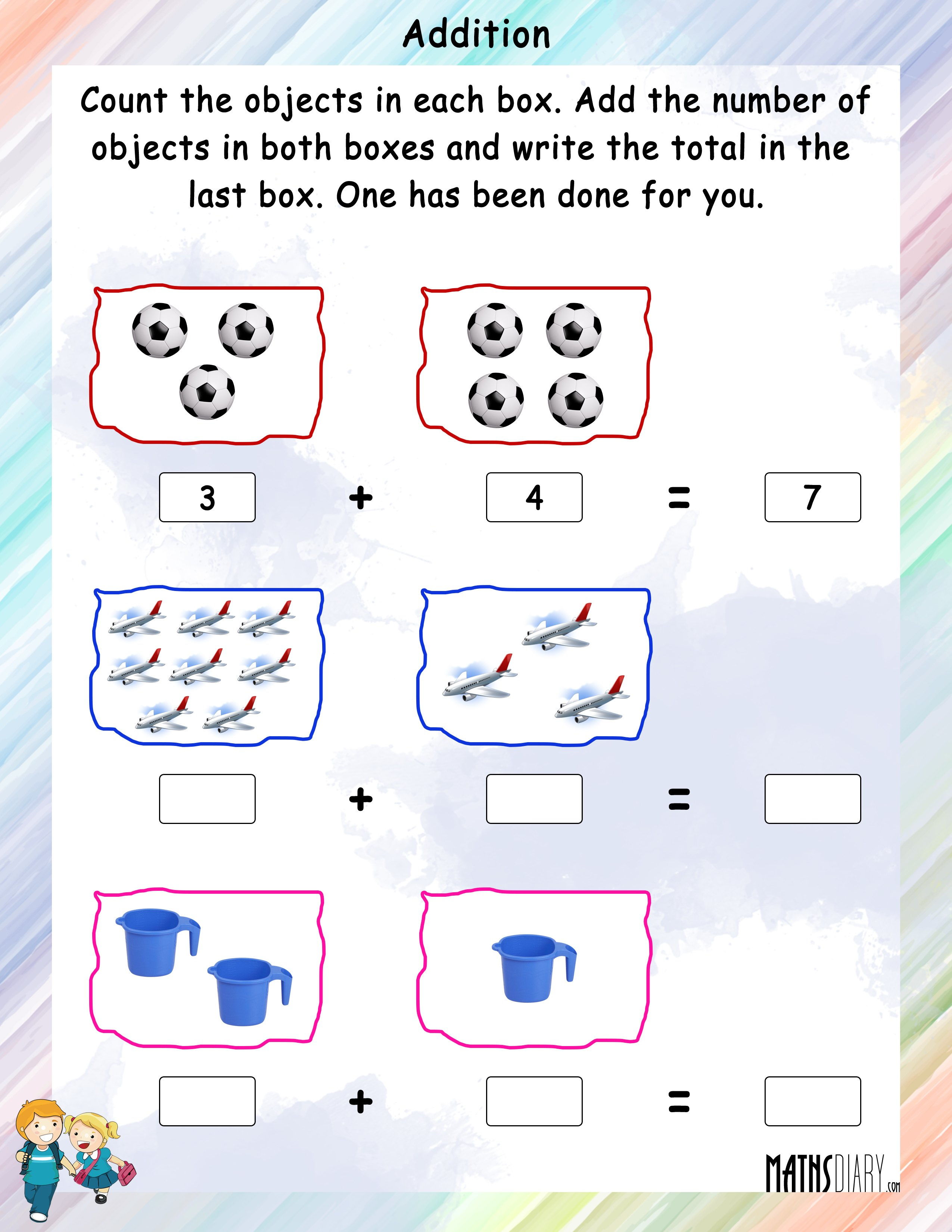 Nursery Math Worksheets