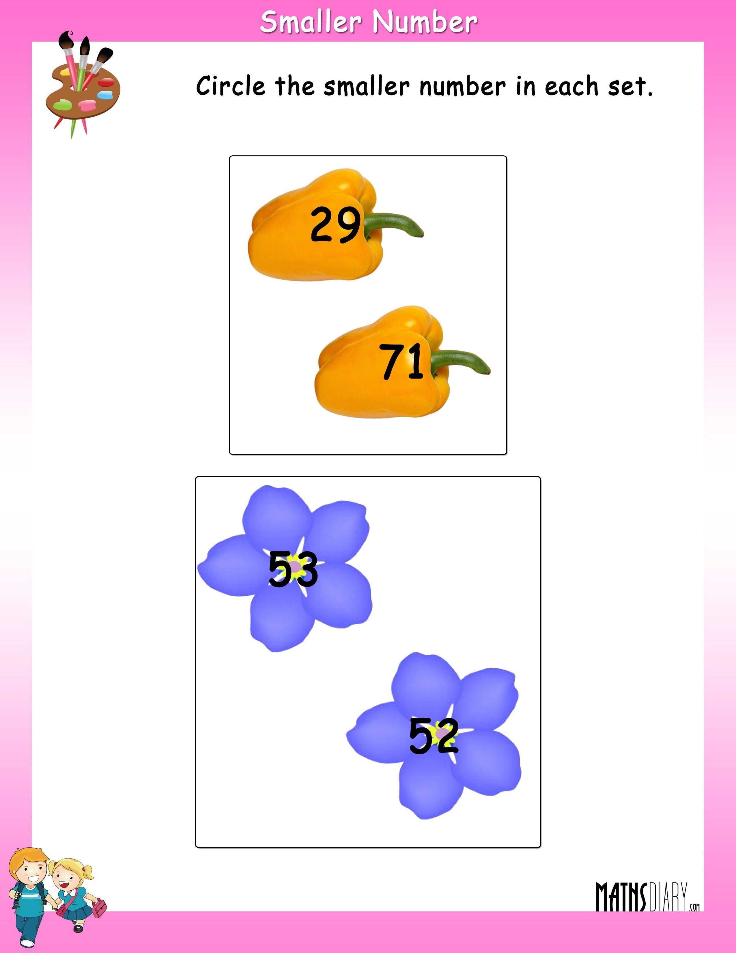 Numbers – LKG Math Worksheets