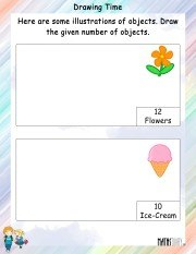 drawing-time-worksheet-1