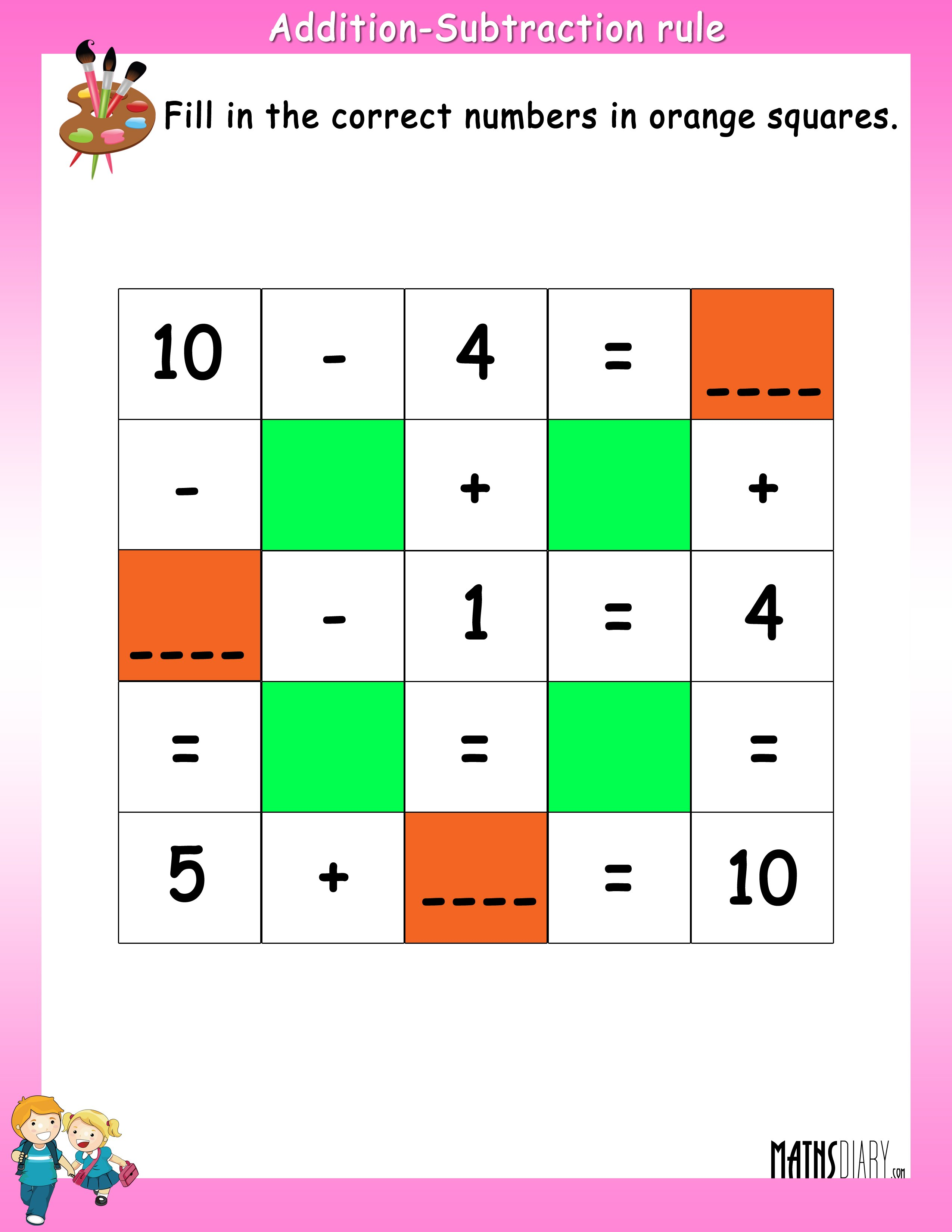 Addition Ukg on Addition Activity Sheets