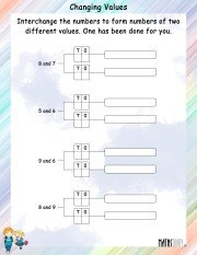 interchanging-numbers-to-change-values-worksheet-1