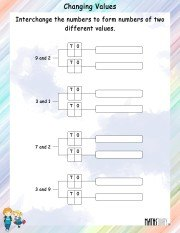 interchanging-numbers-to-change-values-worksheet- 3