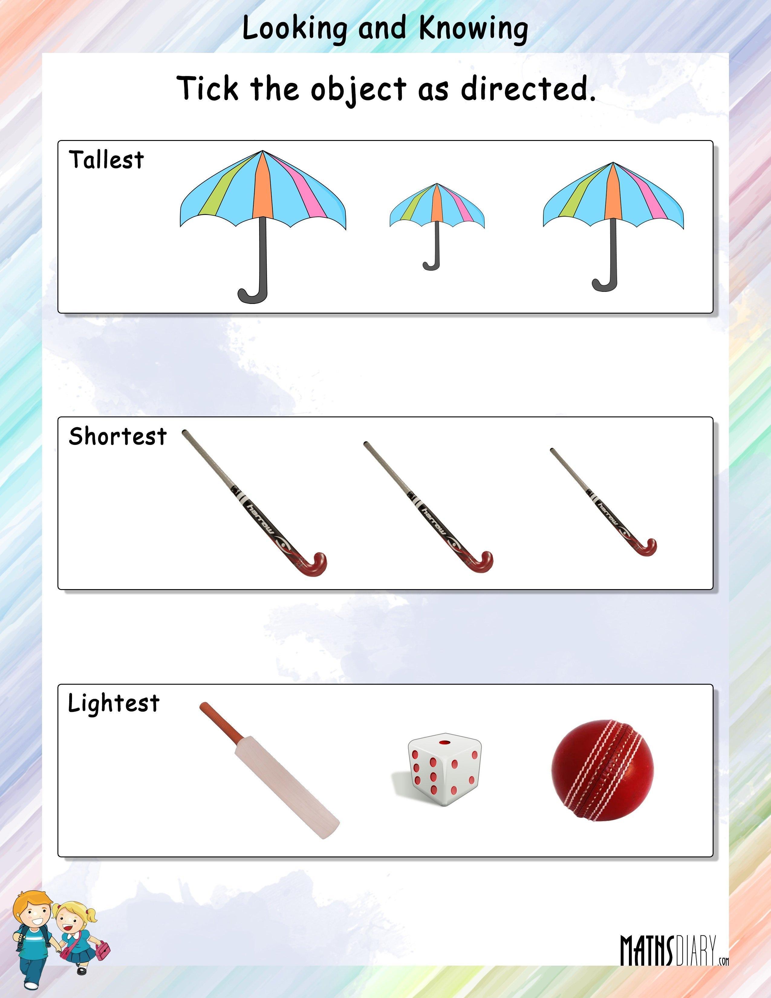 Measurement – Grade 1 - Math Resources