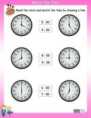 match-the-time-worksheet-2
