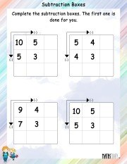 subtraction-boxes-worksheet-1