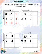 subtraction-boxes-worksheet-2