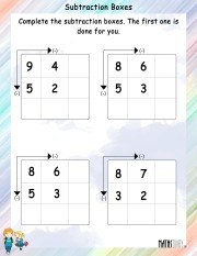 subtraction-boxes-worksheet-3