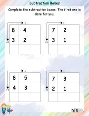 subtraction-boxes-worksheet-4