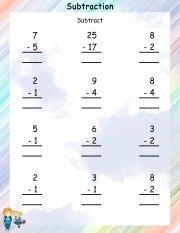 subtraction-worksheet-4