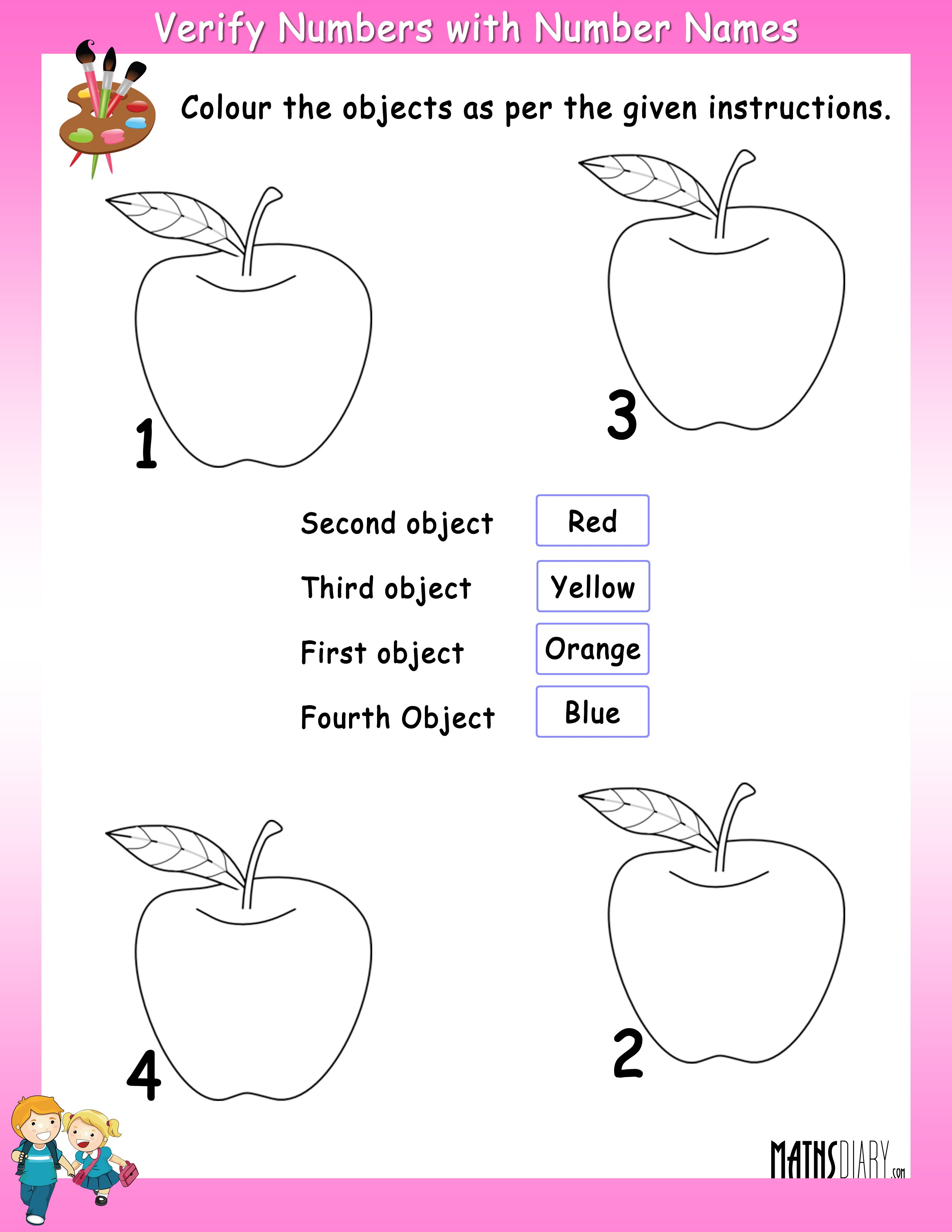 Counting – Grade 1 Math Worksheets - Page 5