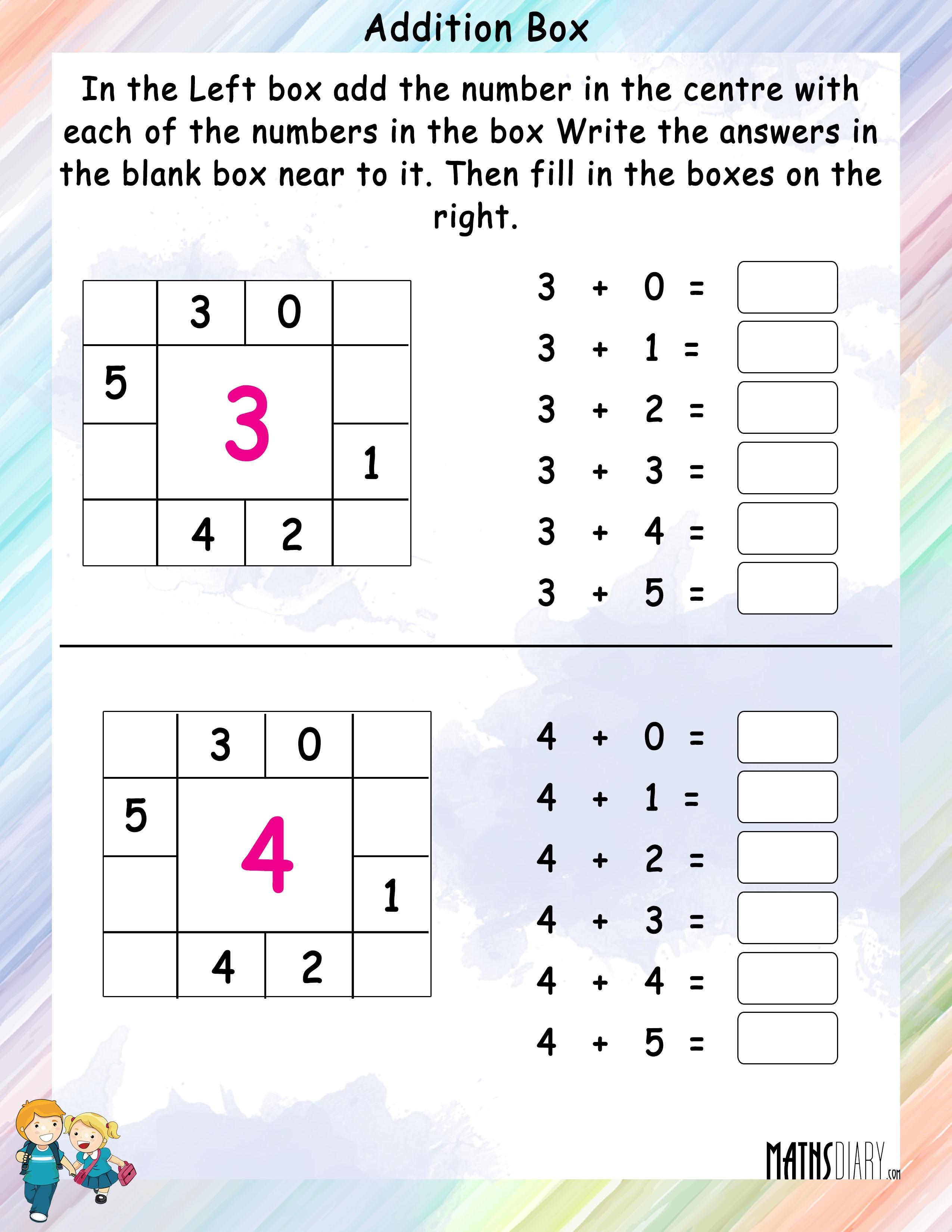 Mental math addition worksheets grade 2