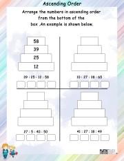 Ascending-order-worksheet- 2