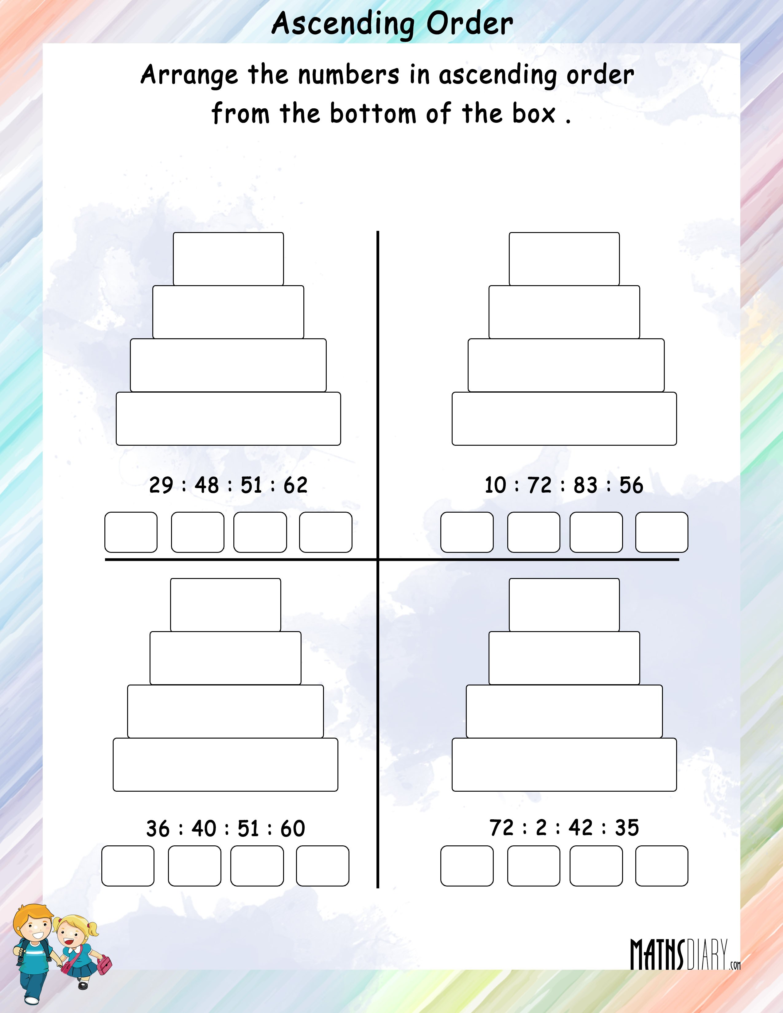 counting to 100 worksheets