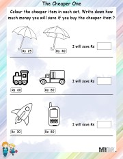 Color-the-cheaper-item-worksheet- 3