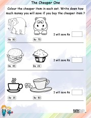 Color-the-cheaper-item-worksheet- 5