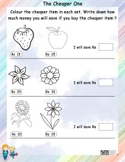 Color-the-cheaper-item-worksheet- 6