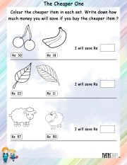 Color-the-cheaper-item-worksheet- 9