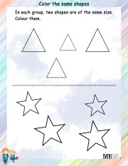 Color-the-same-shapes-worksheet- 10