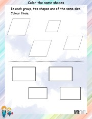 Color-the-same-shapes-worksheet- 11