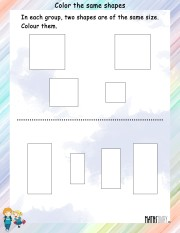 Color-the-same-shapes-worksheet- 3