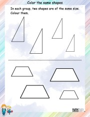 Color-the-same-shapes-worksheet- 6
