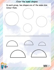 Color-the-same-shapes-worksheet- 7
