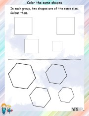 Color-the-same-shapes-worksheet- 8