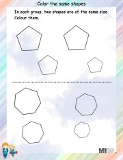Color-the-same-shapes-worksheet- 9