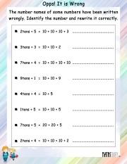 Correct-number-names-worksheet- 5