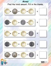 Find-the-total-amount-worksheet- 4
