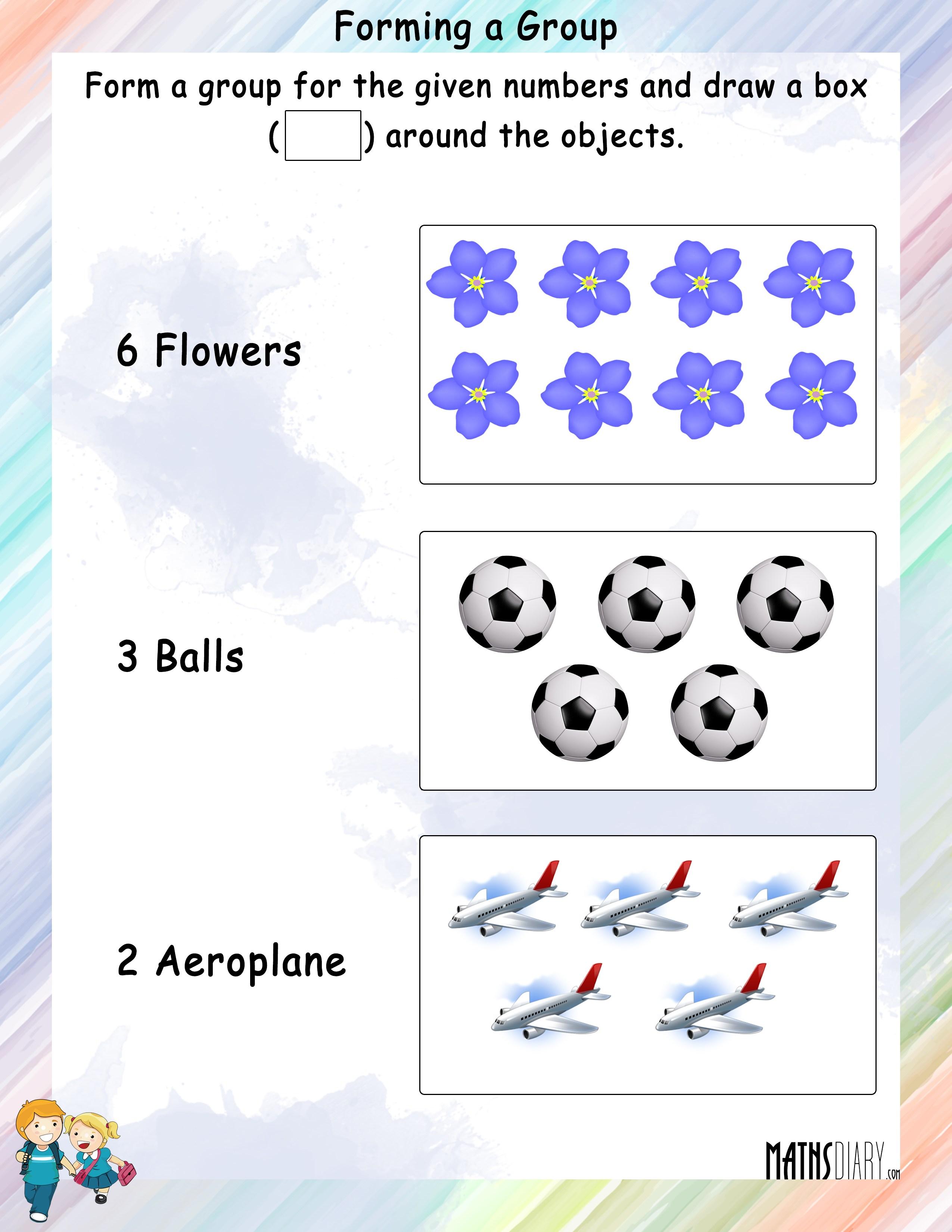 Mental Maths – Grade 1 Math Worksheets - Page 6