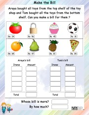 Make-a-bill-worksheet- 11