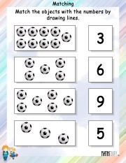 Match-objects-with-numbers-worksheet- 4